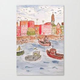 I sea you, baby. Canvas Print