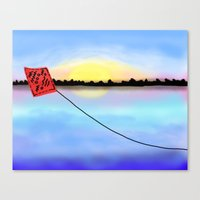 neverland Canvas Prints featuring neverland by Seed Margarita