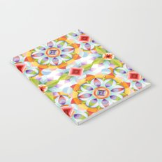Flower Garden Kaleidoscope Notebook