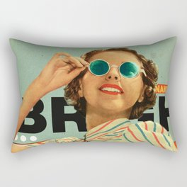 Bright Cinnamon Rectangular Pillow