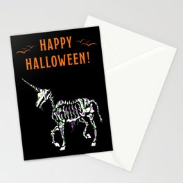 Undead Unicorn Stationery Cards