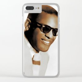 Ray Charles, Music Legend Clear iPhone Case