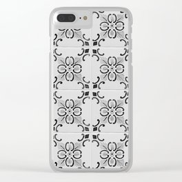 Tiles of Porto IV Clear iPhone Case