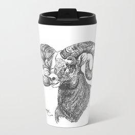 full curl Metal Travel Mug