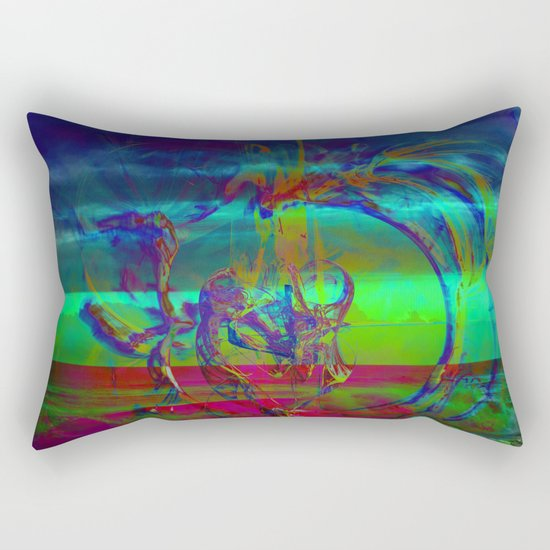 The Emerging Truth Rectangular Pillow