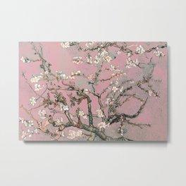 Almond Blossom - Vincent Van Gogh (pink pastel) Metal Print
