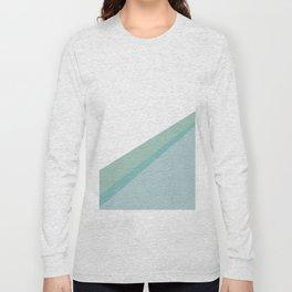 Diagonal colors - Mint Long Sleeve T-shirt