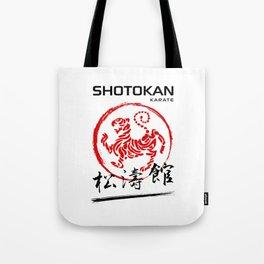 Shotokan Karate Tiger Tote Bag