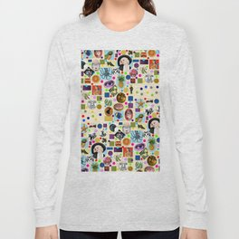 It's Mad, Mad, Mad, Mad World (Beige) Long Sleeve T-shirt