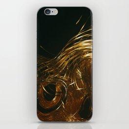 NU_GOLD iPhone Skin
