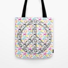 Peace and Guns Tote Bag