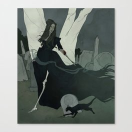 Zombie of Hollywood Cemetery Canvas Print
