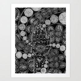 The Hand Art Print