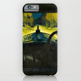The Enchanted Road by Frank O Salisbury iPhone Case