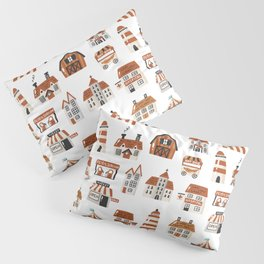 Tiny Houses Buildings an more Pillow Sham