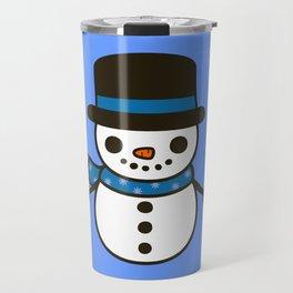 Cute snowman Travel Mug