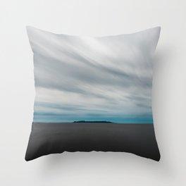 Sleeping Giant Throw Pillow