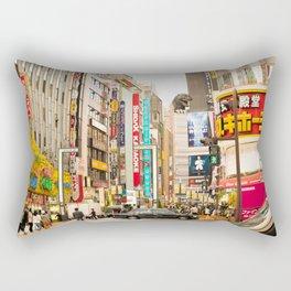 Kabukicho, Shinjuku. Rectangular Pillow
