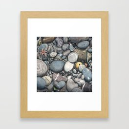 Beach 3 Framed Art Print