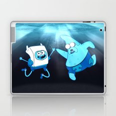 SpongeFinn AdventurePants Laptop & iPad Skin