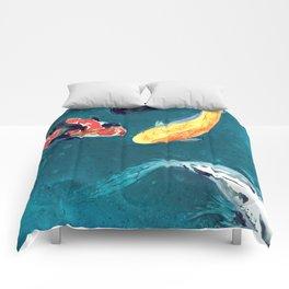 Water Ballet Comforters