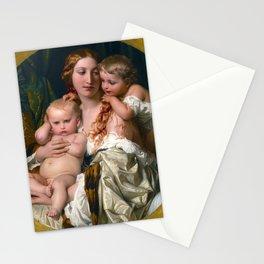 Paul Delaroche - Les joies d'une mre Stationery Cards
