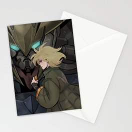 Iron-Blooded Tiger Stationery Cards