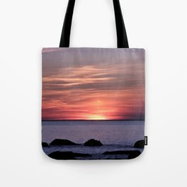 Dusk By The Sea  Tote Bag