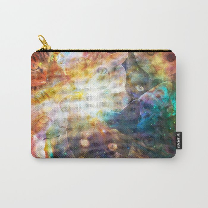 The Cat Galaxy Carry-All Pouch