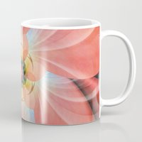 cherry blossom Mugs featuring Cherry Blossom by Christine baessler
