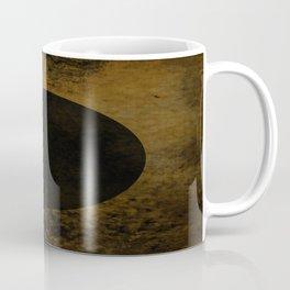 Rustic Dusk - Abstract, rustic, metallic artwork Coffee Mug