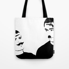 Mustache Made Me Do It Tote Bag