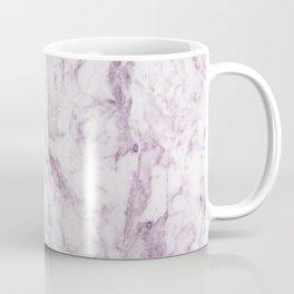 Elegant modern vintage white lilac violet marble Coffee Mug