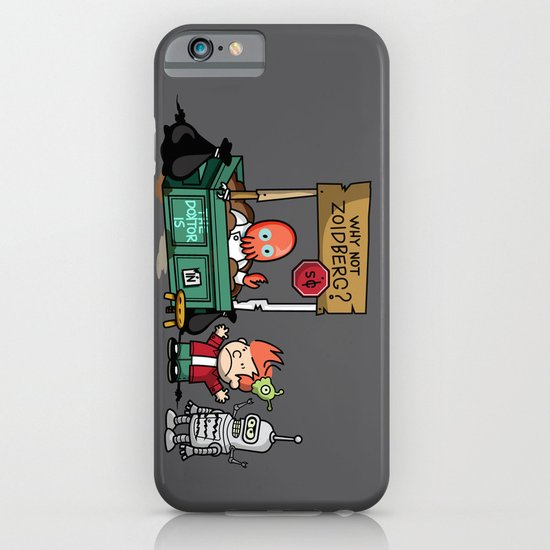 The Doctor is In.... Why not Zoidberg? iPhone & iPod Case
