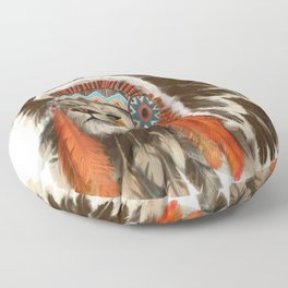 Lion Chief Floor Pillow