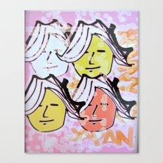 Ladies of Japan Canvas Print