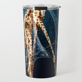 Giselle, the queen of the catwalk Travel Mug