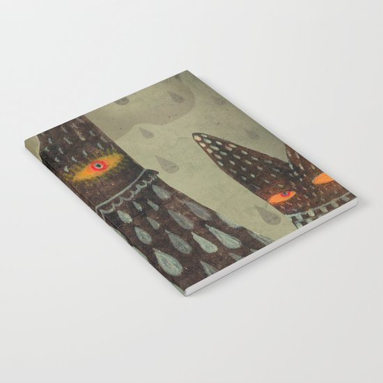 The Night Lurkers Notebook