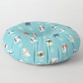 Shih Tzus Floor Pillow