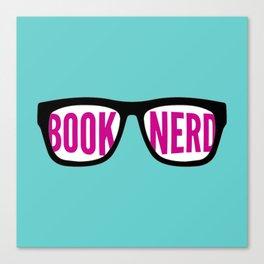 Book Nerd Canvas Print