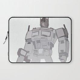 Optimus Black and White Laptop Sleeve