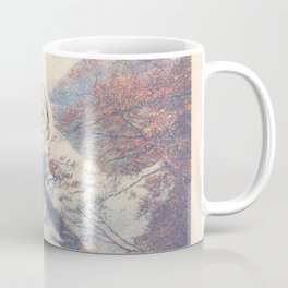 Mixed Media Illustration Coffee Mug