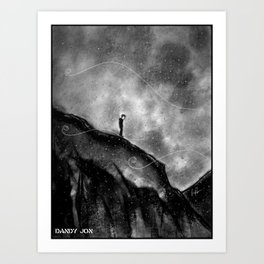 The Melancholy Zone Art Print