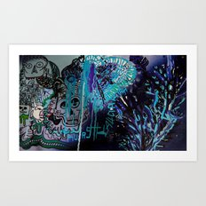 Kursk//A.Kiah//NightSky Art Print