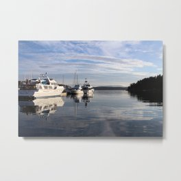 Friday Harbor Metal Print