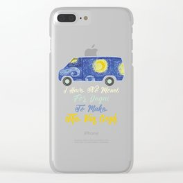 I Have No Monet For Degas To Make The Van Gogh Clear iPhone Case