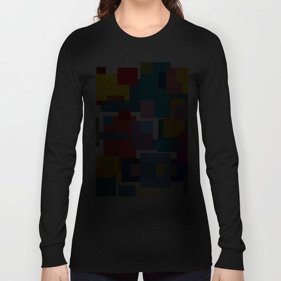 Color Blocks #4 Long Sleeve T-shirt