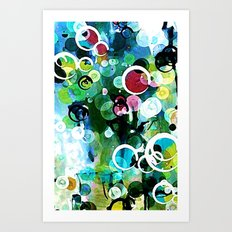 Fizz Number Two Art Print
