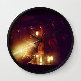 Prayers for the departed Wall Clock
