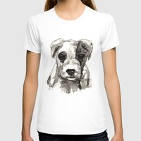 puppy T-shirts featuring Puppy  by Cedric S Touati